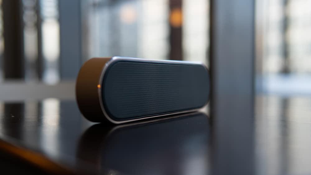 Modern portable wireless music speaker