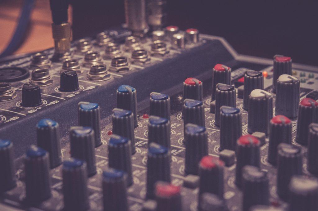amplifier audio mixer